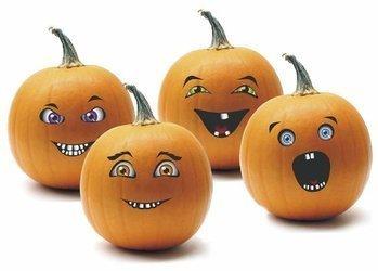 Znalezione obrazy dla zapytania dynie halloween